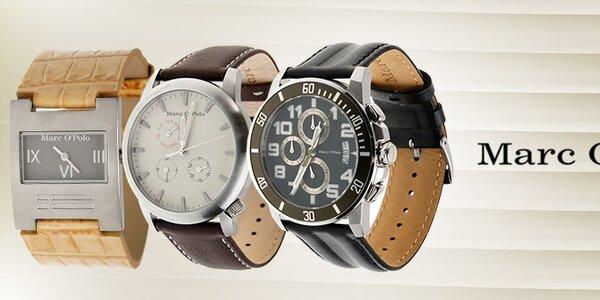 Elegantní dámské a pánské hodinky Marc O´Polo