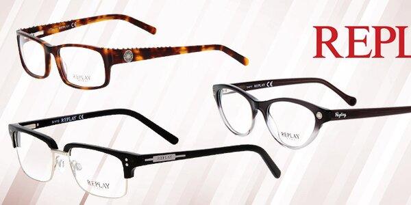 Stylový pohled na svět s brýlemi Replay