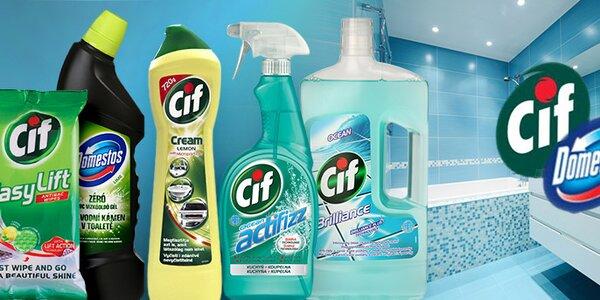 Domestos a Cif - dokonale čistá domácnost