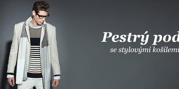 Pánské košile a svetry skladem již od 399,-