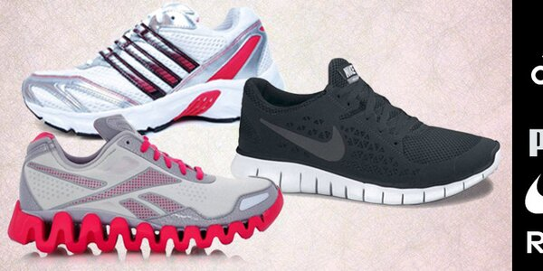 Dámské tenisky Nike, Adidas, Puma, Reebok