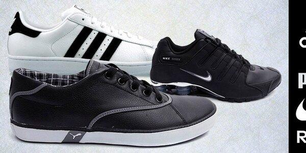 Pánské tenisky Nike, Adidas, Puma, Reebok