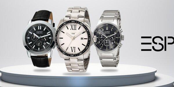 Stylové pánské hodinky a doplňky Esprit