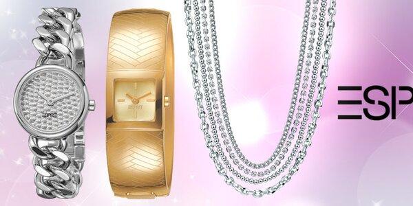 Elegantní hodinky a šperky Esprit
