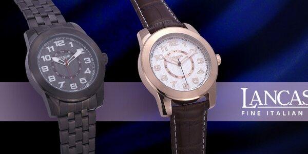 Luxusní pánské hodinky Lancaster
