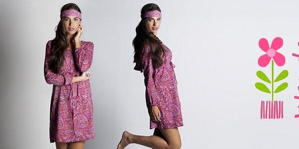 Romantická bavlněná móda Wanda