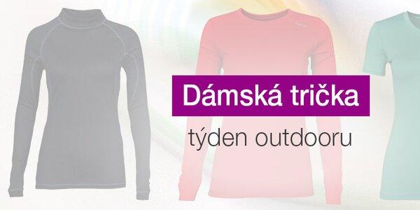 Dámská outdoorová trička již od 229,-