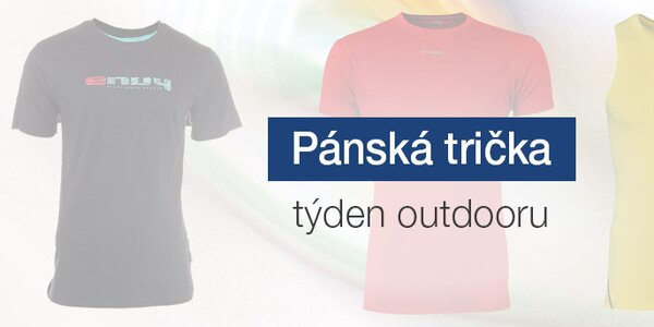 Pánská outdoorová trička již od 249,-