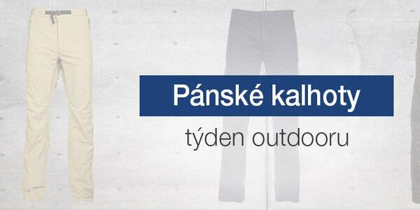 Kvalitní pánské outdoorové kalhoty skladem již od 399,-