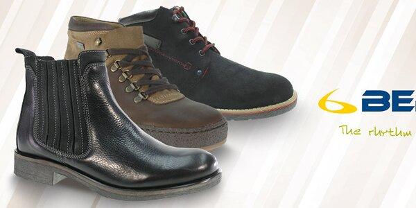 Stylové a pohodlné pánské podzimní a zimní boty Beppi
