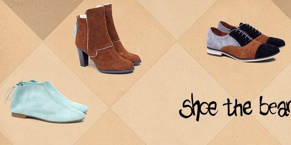 Jedinečná dámská obuv Shoe the Bear