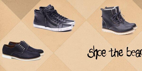 Jedinečná pánská obuv Shoe the Bear
