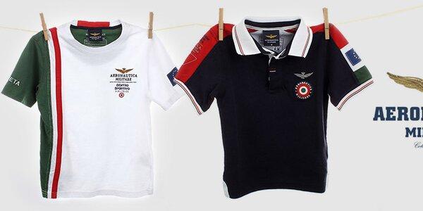 Kvalitní dětské oblečení Aeronautica Militare