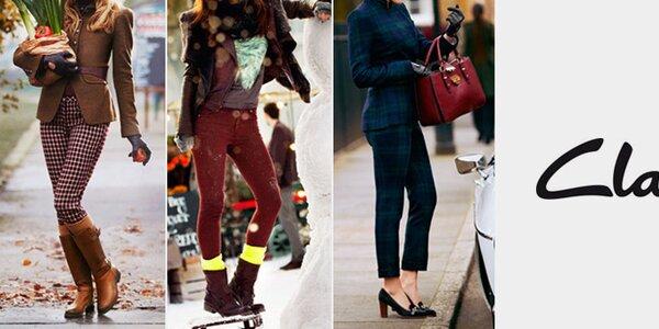 Elegantní a pohodlné dámské boty Clarks