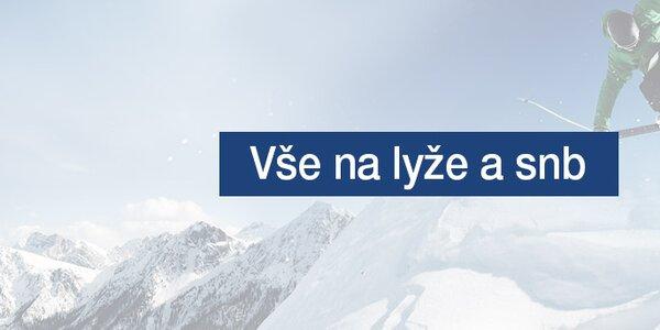 Pánské oblečení na lyže a snowboard skladem již od 359,-