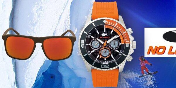 Dynamické designové hodinky a sluneční brýle No Limits