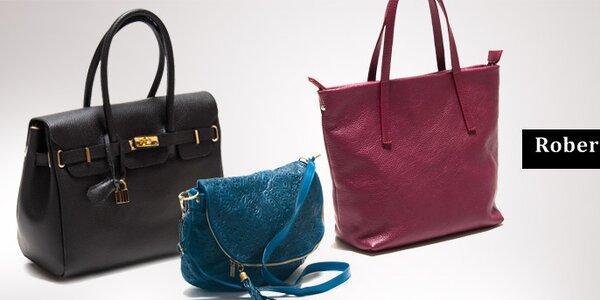 Dámské elegantní kožené kabelky Roberta Minelli