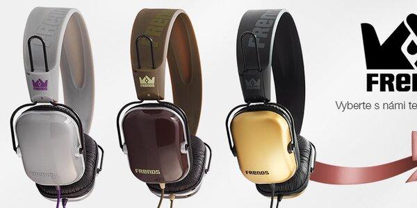 Kvalitní designová sluchátka Frends