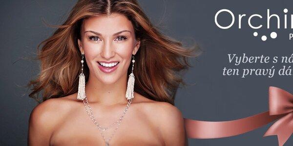 Luxusní dámské šperky z perel Orchira