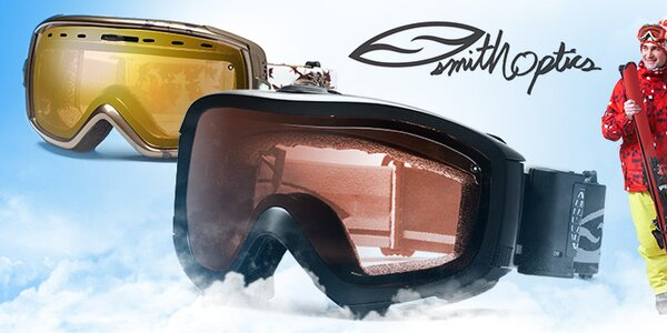 Stylové lyžařské brýle Smith Optics již od 499,-