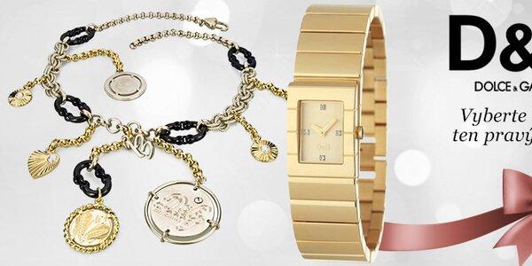 Luxusní hodinky a šperky Dolce & Gabbana