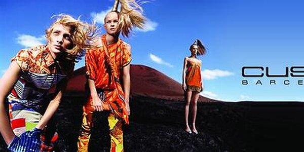 Zářivě barevná dámská móda Custo Barcelona skladem již od 399,-