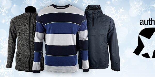 Pánské sportovní a casual oblečení Authority již od 249,-