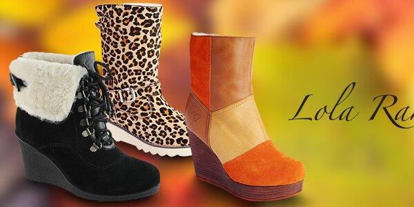 Temperamentní a hravé dámské boty Lola Ramona