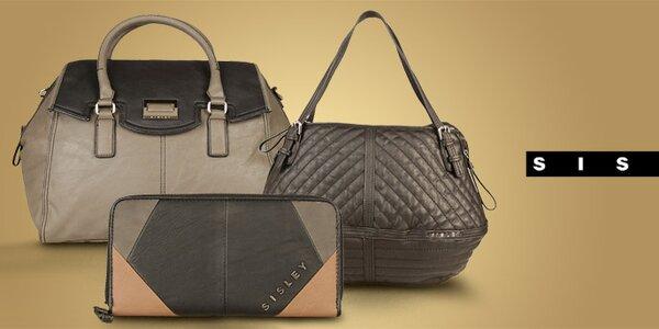 Módní dámské kabelky a tašky Sisley