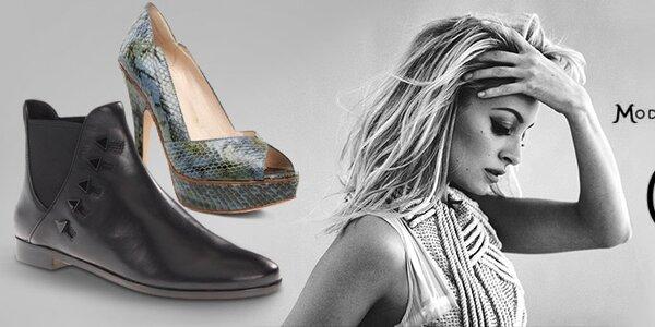 Extravagantní dámská obuv House of Harlow