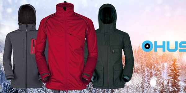 Pánské outdoorové a lyžařské oblečení Husky