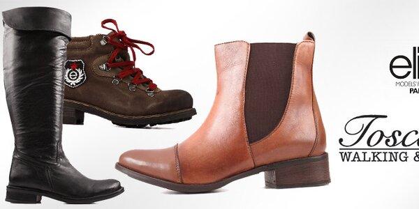 Obujte se do zimy s Elite Shoes a Toscania již od 399,-
