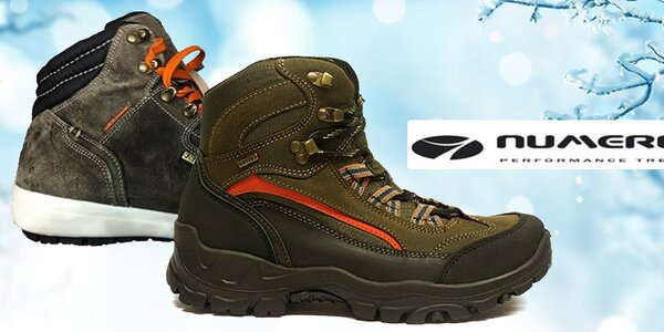 Pohodlná pánská outdoorová obuv Numero Uno