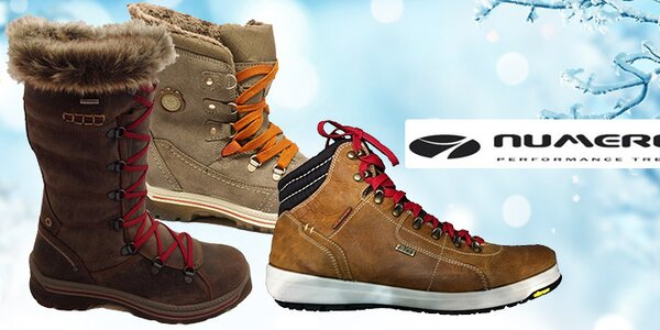 Pohodlná dámská a dětská outdoorová obuv Numero Uno