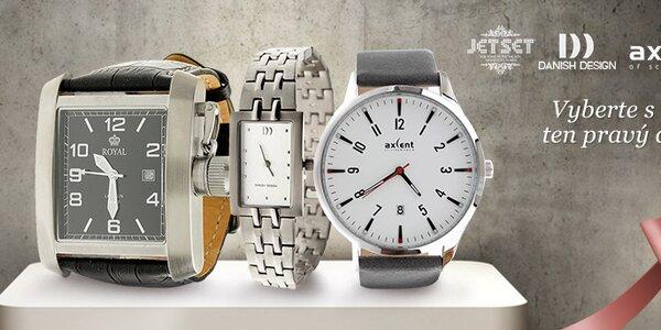 Stylové hodinky Jet Set, Royal London, Danish Design a Axcent
