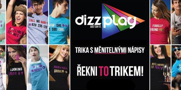Vytvořte si originální tričko s Dizzplay