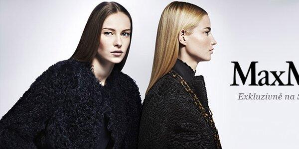 Luxusní podzimní a zimní móda Max Mara