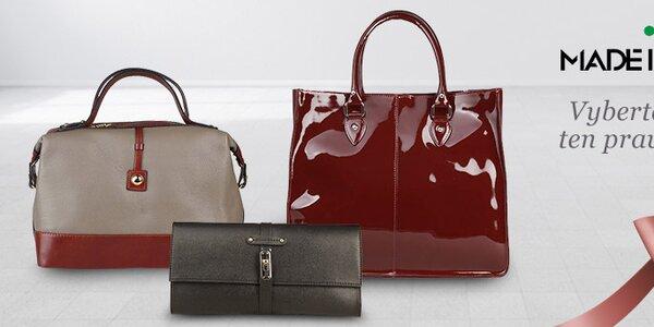 Elegantní dámské kabelky Made in Italia