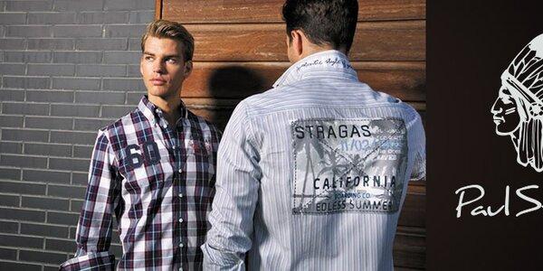 Sportovně elegantní pánská móda Paul Stragas