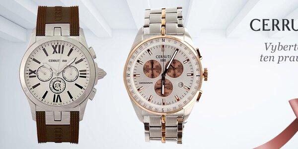 Luxusní a stylové hodinky Cerruti 1881