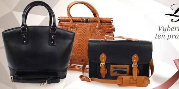 Stylové kabelky London Fashion již od 299,-