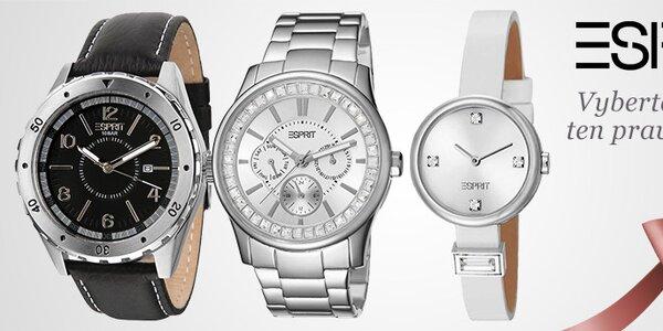 Elegantní a nadčasové hodinky Esprit