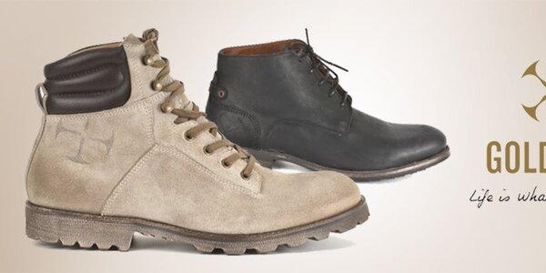 Goldmud - jednoduše dokonalé pánské boty