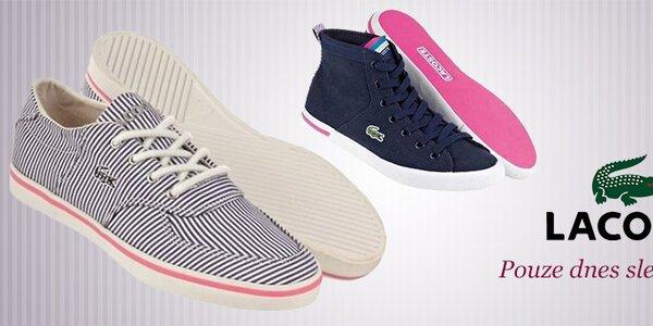 Dámské boty Lacoste za skvělé ceny - pouze dnes!