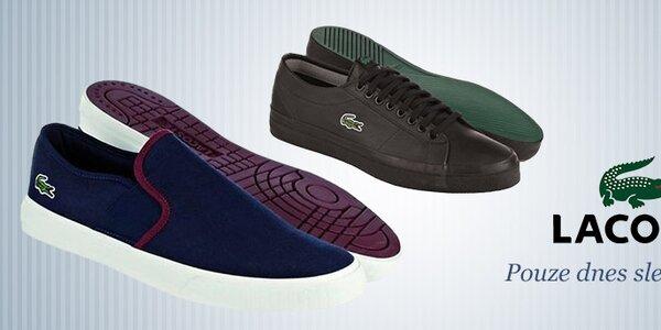 Pánské boty Lacoste za skvělé ceny - pouze dnes!