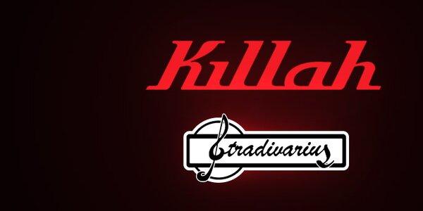 Dámské džíny a topy Stradivarius a Killah