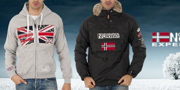 Pohodová pánská móda Geographical Norway