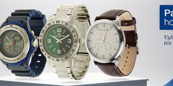 Elegantní i sportovní pánské hodinky s doručením do 2 dnů