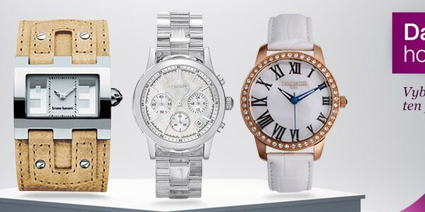 Stylové hodinky pro milovnice detailů i minimalistky s doručením do 2 dnů