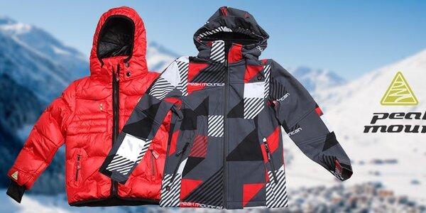 Hřejivé bundy pro vaše ratolesti Peak Mountain